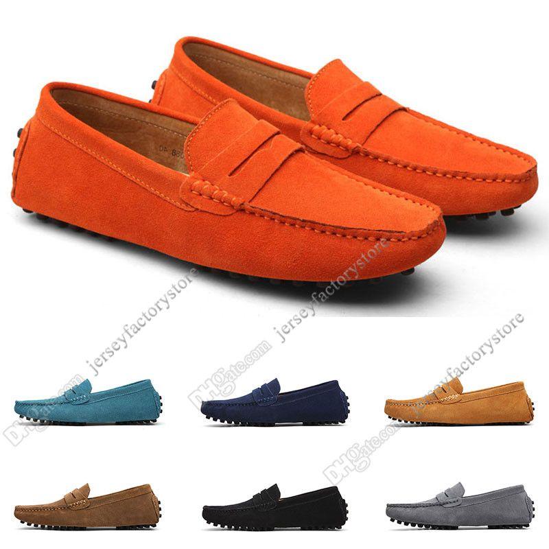 2020 grande taille 38-49 NOUVEAU Cuir pour hommes Chaussures pour hommes Couvre-chaussures Britannique Casual Chaussures Livraison Gratuite Cinquante-trois