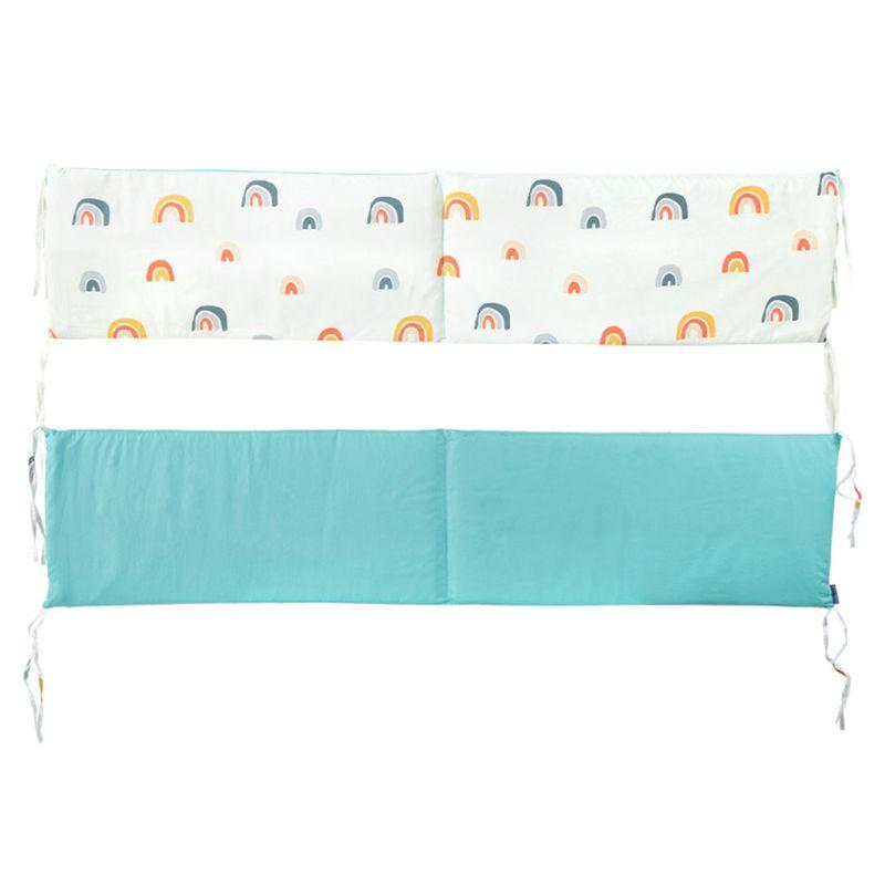 1 ПК малышей Детские кроватки Бамперы колодки для Infant Cot безопасности Универсальный вкладыши Protector Постельные принадлежности