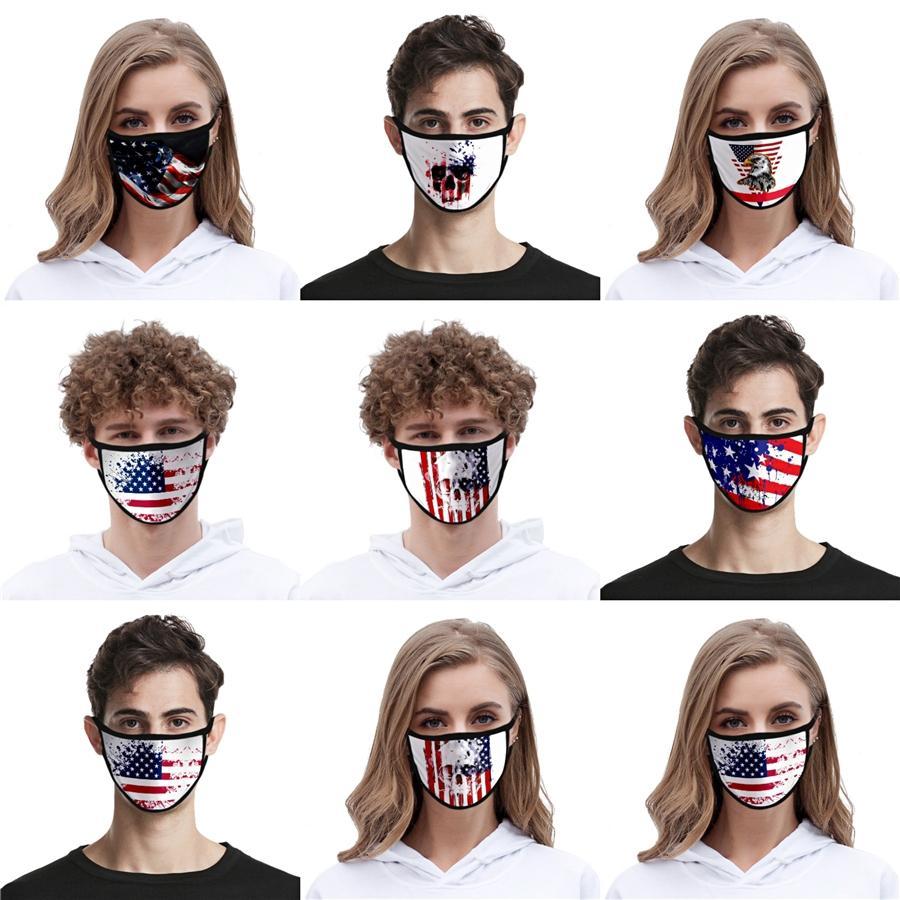 I Cant Breathe Designer Foulard lavable réutilisable Masque masque de protection en tissu avec 2 PM2,5 Filtre respirant confortable Noir unisexe # AQ51