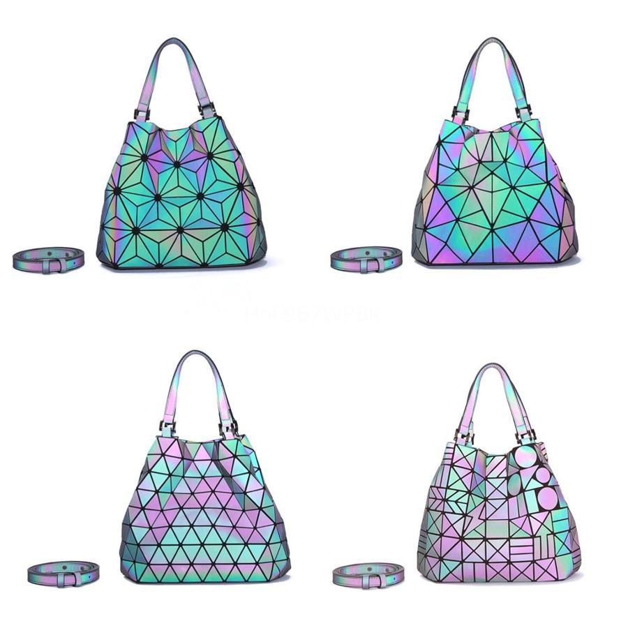 Women'S Luxury Handbag 2020 New European An American Patchwork Simple Single Shoulder Messenger Bag Designer Large Capacity Tote #610