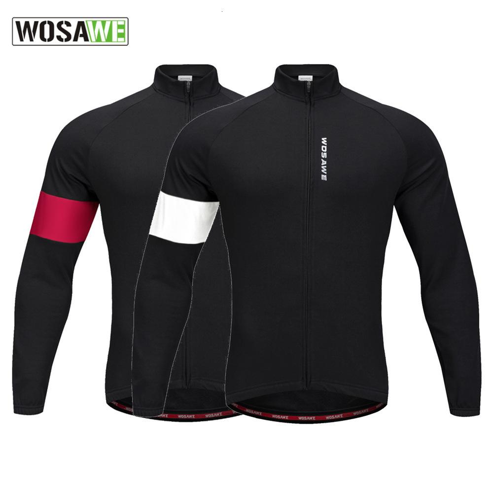 Wosawe A Mountain Country For My Clothes Catch Down Keep Warm Ride President Sleeve Jacket Bicycle Cycling Wear