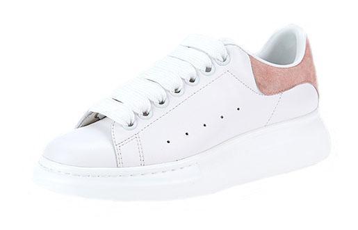2019 мужская женская мода роскошные белые кожаные черные туфли на платформе плоские повседневные туфли Леди черный розовый золотой женские белые кроссовки