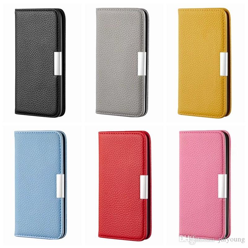 Chupar Caso a carteira para Iphone 11 Pro XS MAX XR X XS 8 Plus 7 6 Strong fecho magnético flip tampa do cartão ID Titular slot Levante Purse