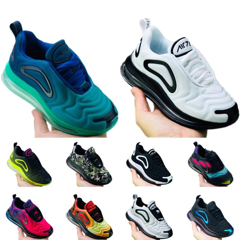 Nike Air Max 720 Tout-petit enfant unc gagner comme 82 11 xi chaussures de basket-ball des enfants à mi-enfant enfants fille garçon 11s chaussures de sport michael 22-27 CONCORD