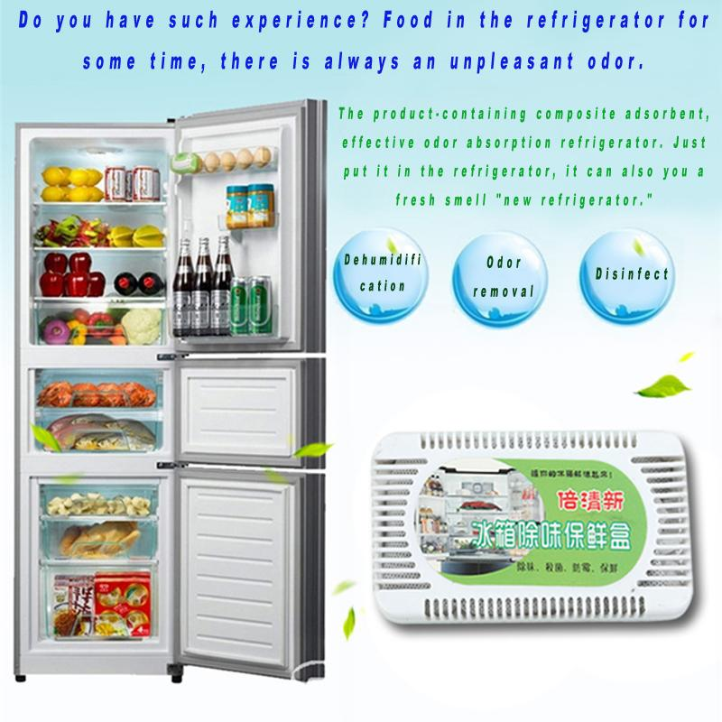 Hot Sale Fridge Refrigerator Air Purifier Activated Bamboo Charcoal Refrigerator Deodorant Box Odors Smell Remover