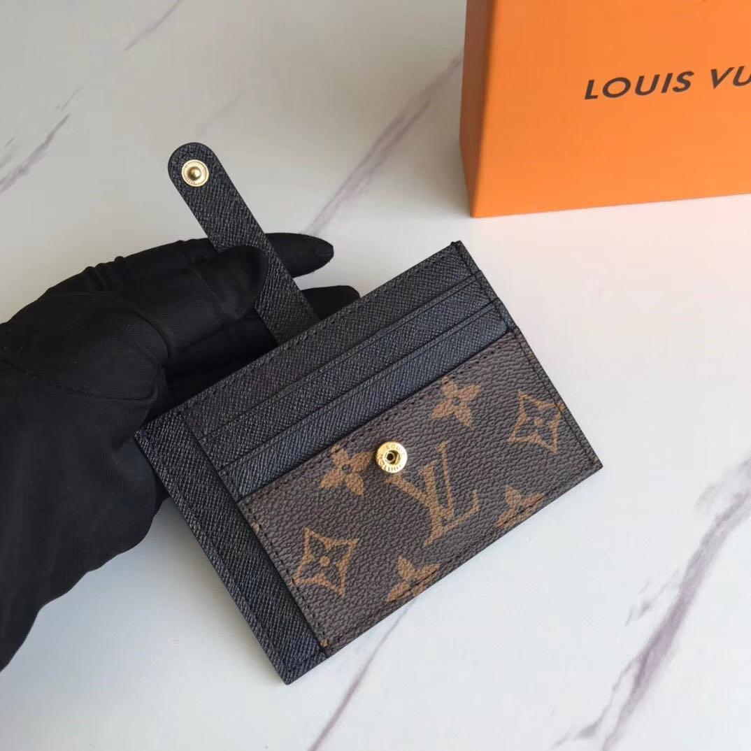 2020 nuevos Mens del diseño clásico de la manera ocasional del titular de crédito tarjeta de identificación de la calidad de Hiqh real Monedero de cuero ultra delgada del bolso del paquete para Mans / 72 Womans