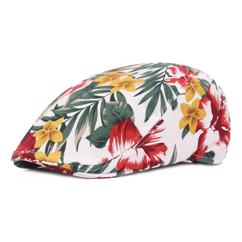 Berretto strillone in cotone da donna in stile cinese, berretto con visiera, berretto con visiera, berretto piatto, berretto con visiera