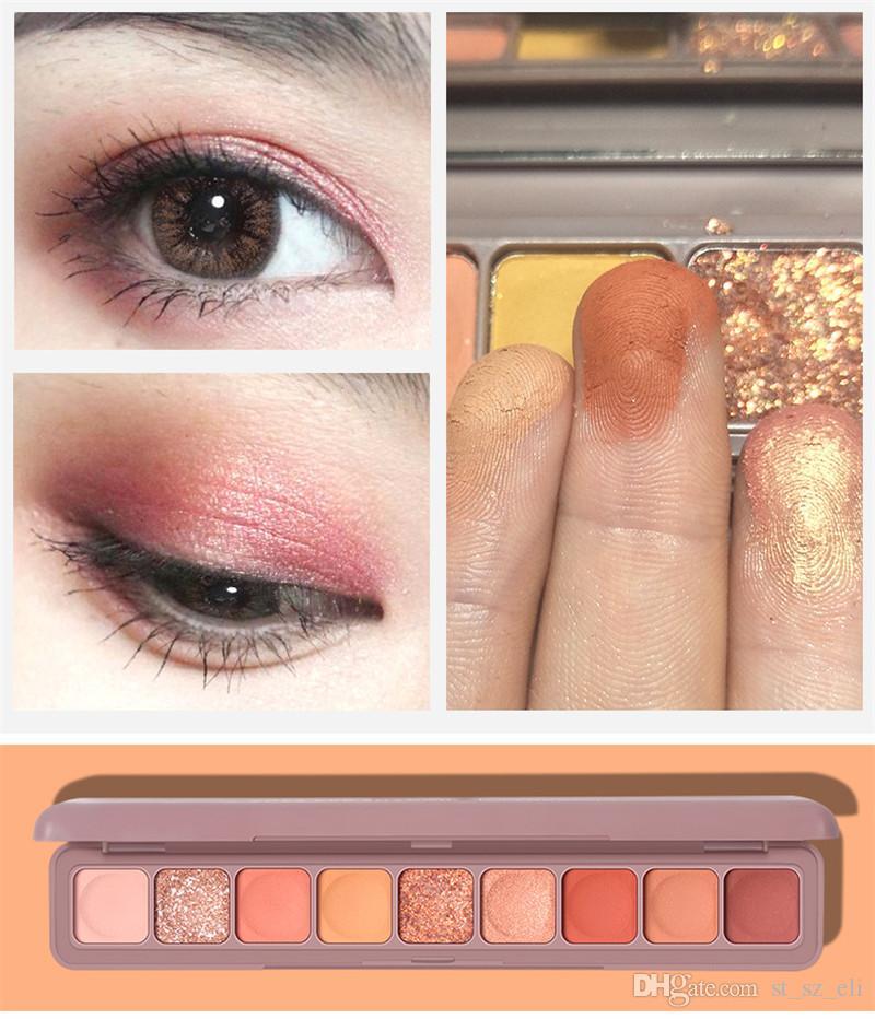 9 colors Eye shadow Palette Eye Makeup Palettes Professional Performance Matte Mult-Finish High Pigment Eyeshadow