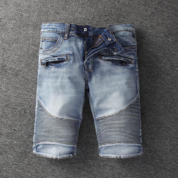 Los hombres pantalones jeans delgados pantalones cortos para hombre de los pantalones cortos de los hombres s de diseño de verano pantalones pantalones rectos para hombre del diseñador de verano grande y alto