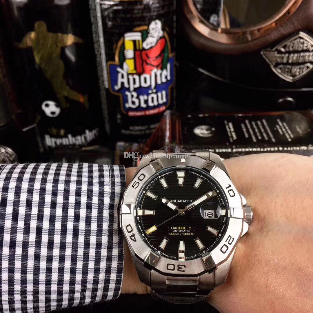 뜨거운 판매 자동 남성 시계 새로운 남성의 고급 기계식 시계 마스터 디자인 비즈니스 시계