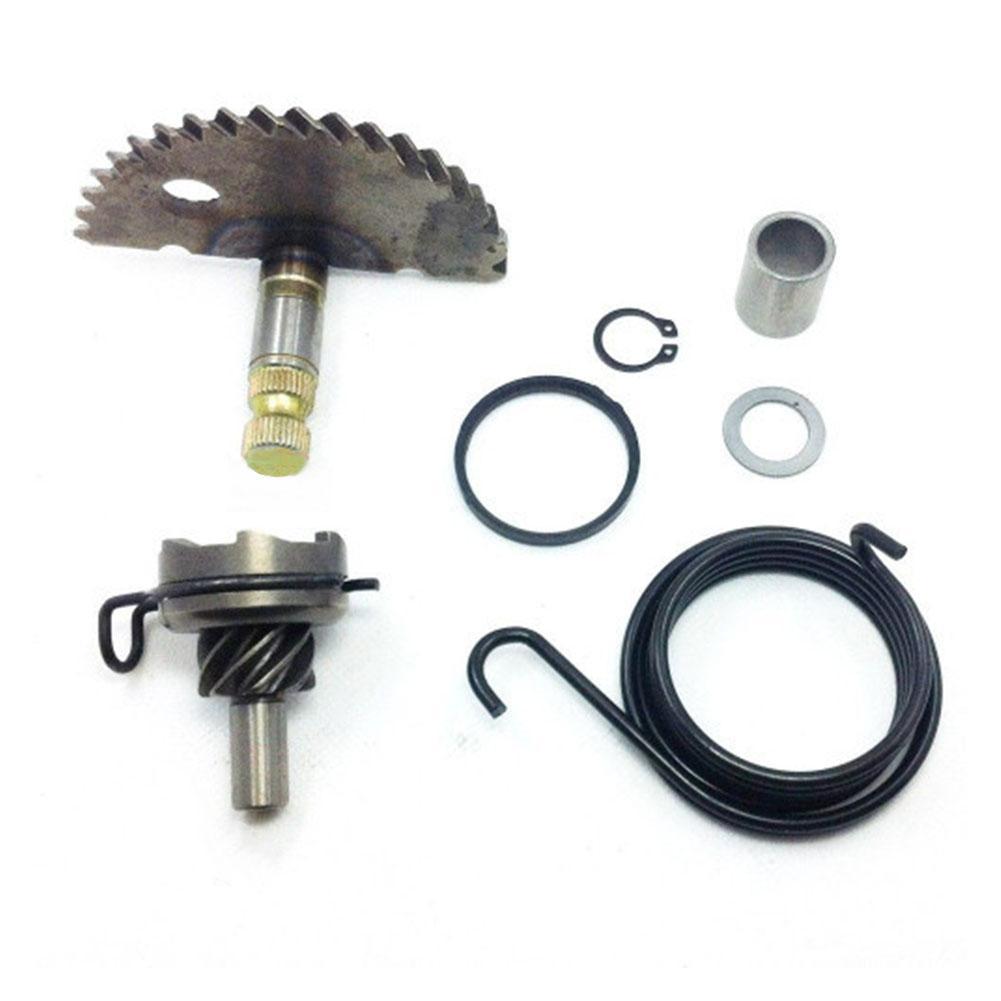 Кик начать с Spring Direct Fit аксессуары одноцилиндровый Прочный двигателя Стартер передач Kit Мотоцикл частей для GY6 50cc 80cc