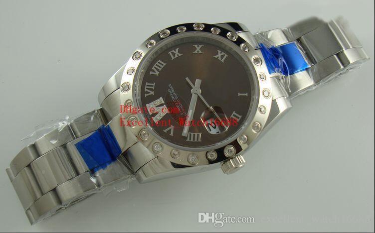 2 뜨거운 판매 숙녀 패션 시계 31 mm 36 mm 178341 178343 178344 스테인레스 스틸 아시아 2813 자동 기계 여성용 시계 Christma