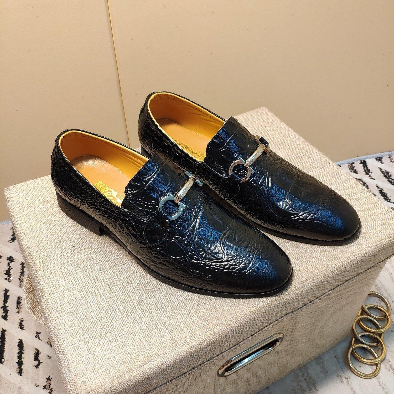 top scarpe casual da uomo scarpe di cuoio scarpe da tennis di qualità 20200311-452 * 34538 Q5CN