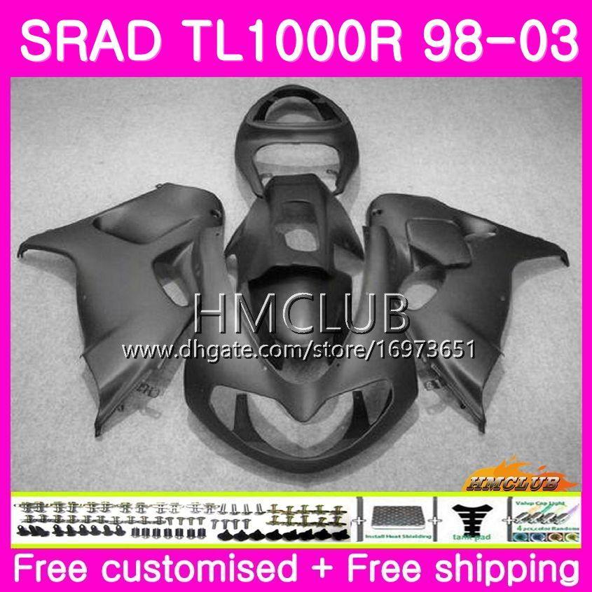 Injection For SUZUKI SRAD TL 1000 R TL1000R 98 99 00 01 02 03 16HM.3 TL1000 R TL 1000R 1998 1999 2000 2001 2002 2003 Fairing New Matte black
