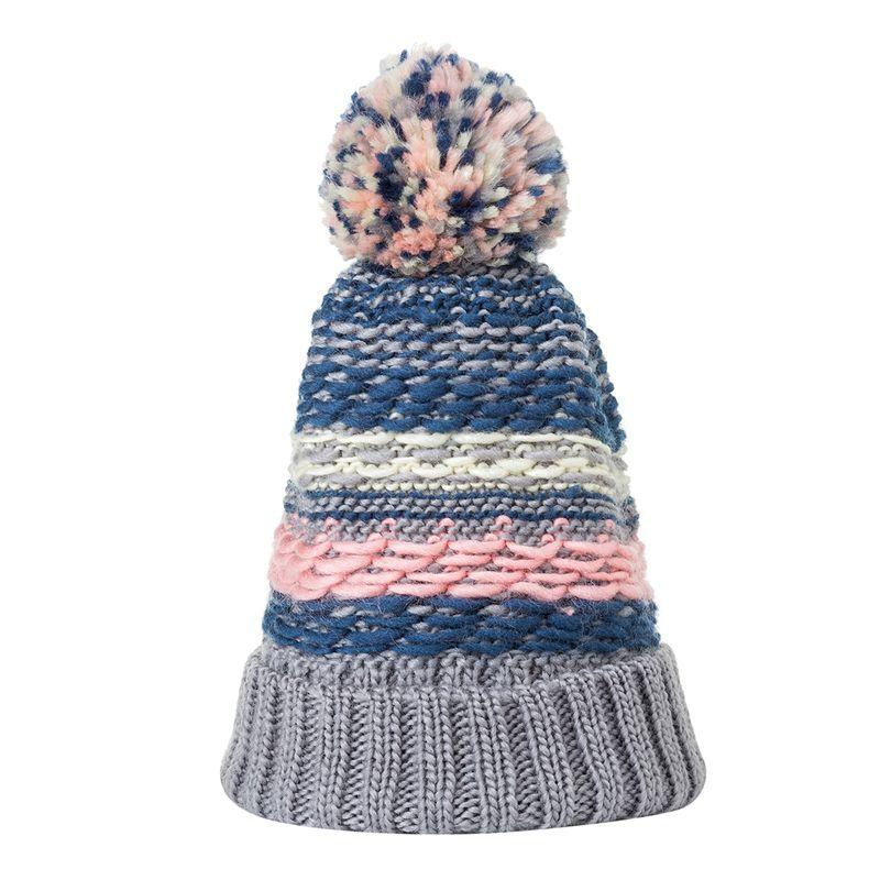 Hat Casual Crful Pom Pom Beanies Girls Pompon Fe Winter Warm Knit Skullies,Hat Beige,
