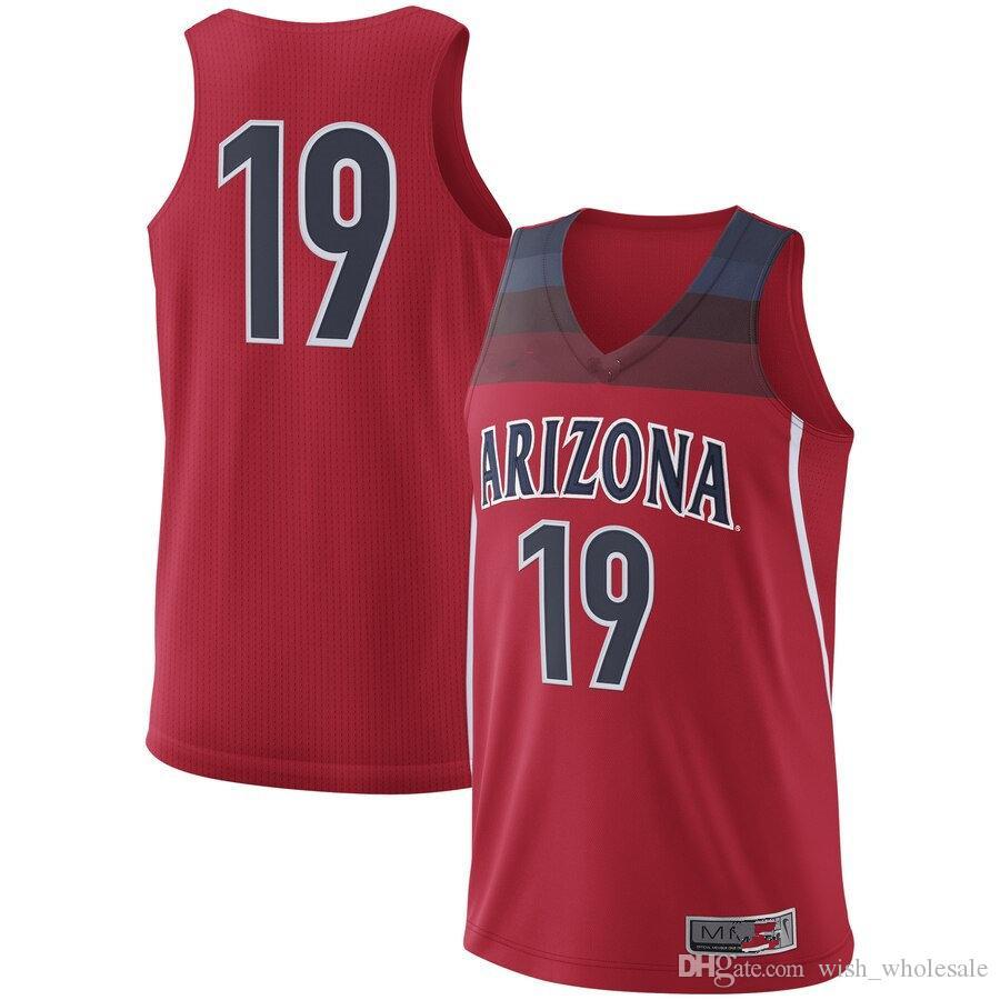 Jake DesJardins Arizona Wildcats Basketball Jersey - Dark Blue
