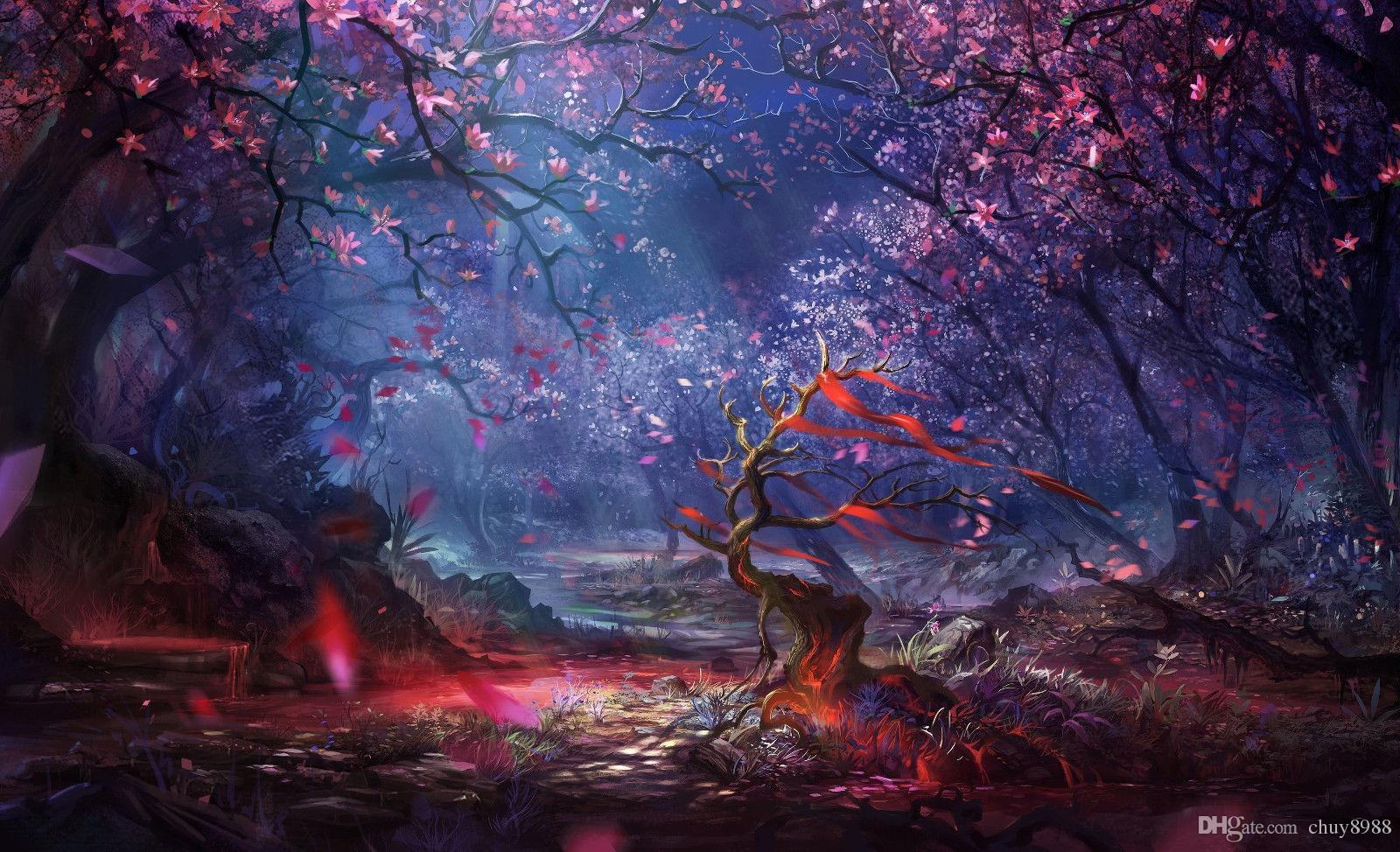 Enchanted Forest Fantasy Art