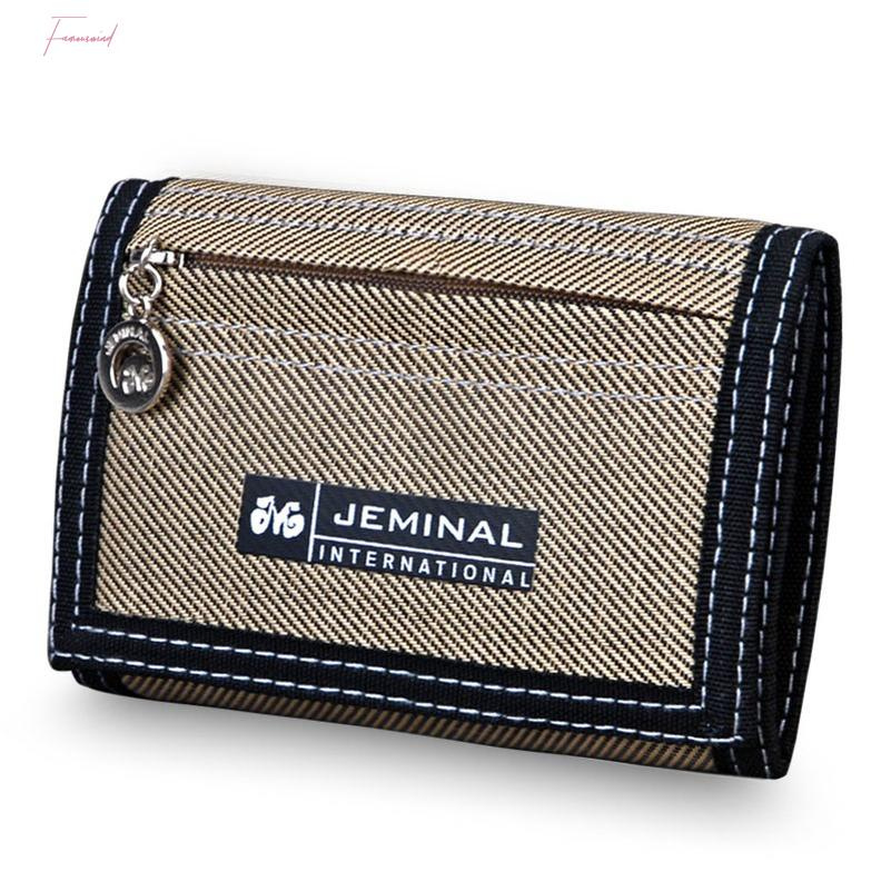 Pocket Male Purses Wallet Purse Holder Mens Wallets Money Hasp Zipper Canvas Qaulity Notecase Bags Change Coin Cards Good Short Ssqxd