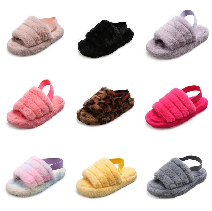 Mode Chaussures Femmes 2020 Toe fermé Chaussons Talons été Costume Femme Beige Shallow Bouche Femmes Femmes Dentelle Pantoufles # 394