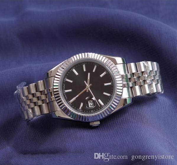 горячей продажи высокого качества U1 завод автоматические механические женские часы синий циферблат сапфир из нержавеющей стали Прозрачное стекло обратно мужские часы
