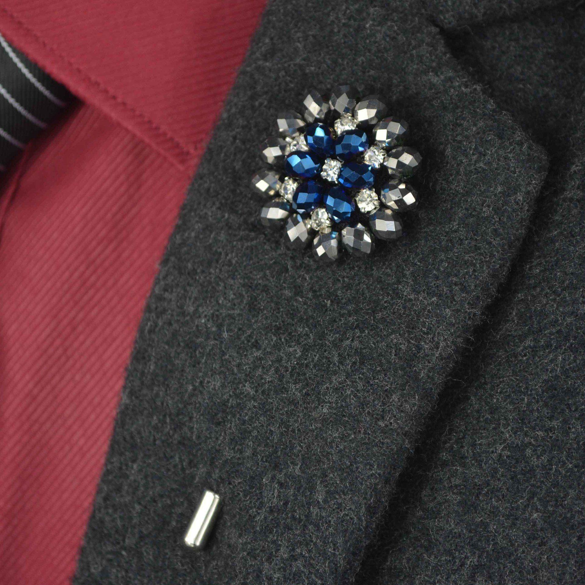23 TARZLAR Vintage Karışık Takı Elmas Broş Zinciri Erkekler Suit Yaka Broş Broche Yaka Pin Broş Kadınlar Takı Aksesuar