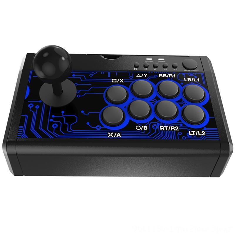 스위치 게임 컨트롤러 조이스틱 게임 액세서리 PS4 PS3 X 박스 PC Tp41886에 대한 FFYY7In1 아케이드 파이팅 유선 로커 콘솔 핸들
