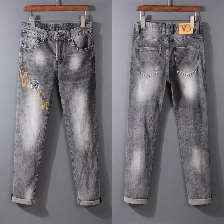 2020 Дизайн бренда Jeans дизайнер одежды Брюки мужские S роскошь дизайнер джинсы роскошь моды джинсы для мужчин