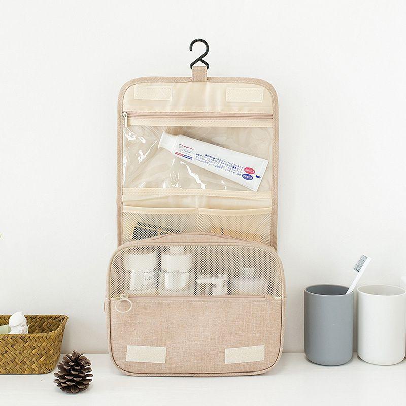 Sac cosmétique de haute qualité, design de mode Voyage, multifonctions Stockage Sac portable étanche lavage à grande capacité Sac cosmétique B0102