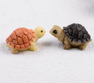 5 suministrado Accesorios De Jardín De Hadas-Miniatura tortugas