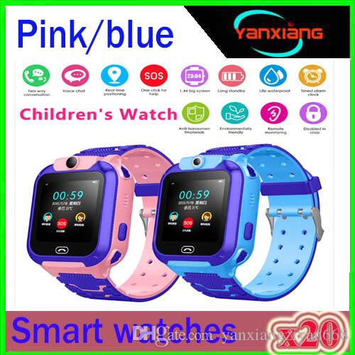2019 New Smart watch LBS Kid SmartWatches Baby Watch for Children SOS Call Location Finder Locator Tracker Anti Lost Monitor+Box ZY-SB-Q