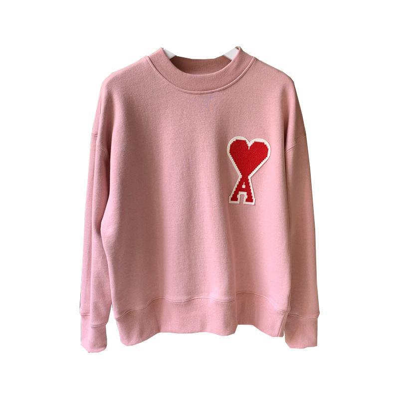 Tee shirt de coeur de pêche Flanelle Sweat-shirt Trois couleurs T200411 Casual