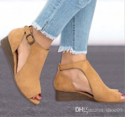 Classique Femmes en cuir Sippler Sandales, Espadrille Flats avec paille Weaving Soles Chaussures Casual femmes Slip-on pour shoe09 p64