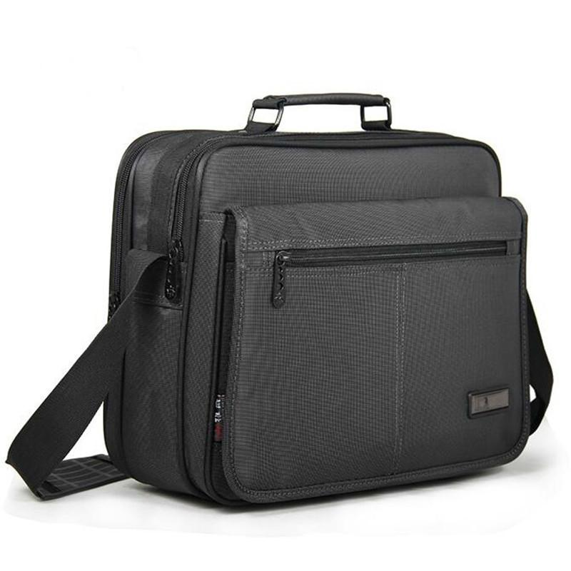 New Notebook Computer Bag Business Men's Briefcase Men Laptop Bag High Quality Waterproof Durable Oxford Cloth 12 13 14 15 inchMX190905