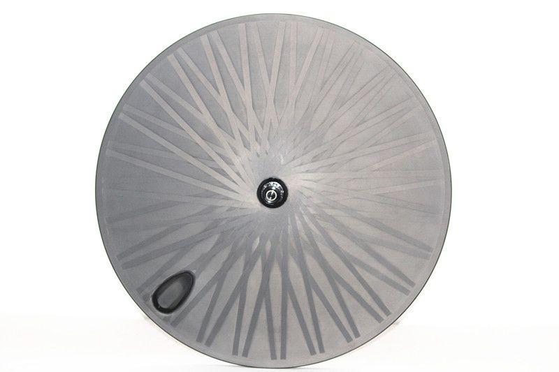 도레이 카본 파이버 휠 700c 디스크 휠 카본 디스크 리어 휠 관개 도로 / 트랙 TT 자전거 OEM 카본 클린 처 사이클링 바퀴 세트