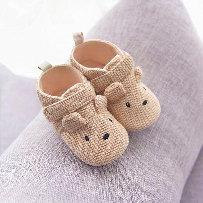 0-6-12 شهر الطفل الأحذية بوي الأخفاف طفل الوليد بنات أحذية أسفل الخطوة صندوق القطن لينة جبهة حذاء المشي الطفل متعطل