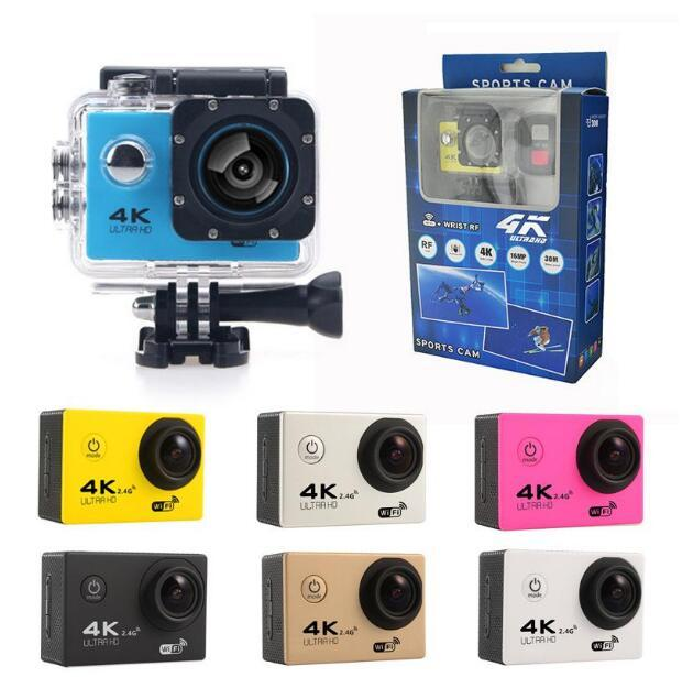 4K Action Camera F60 F60R WIFI 2.4G Remote Control Waterproof Video Sport Camera 16MP/12MP 1080p 60FPS Diving Camcorder