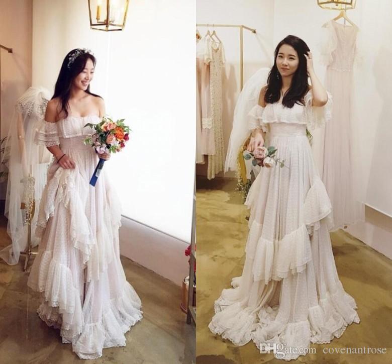 Gypsy Style Wedding Dresses