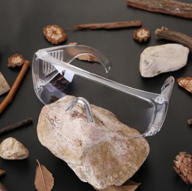 Gafas de seguridad a prueba de polvo Anti salpicón Anteojos Ojos Protetion multi funcional Gafas adulto Gafas de la prueba del viento transparente ZYQ420