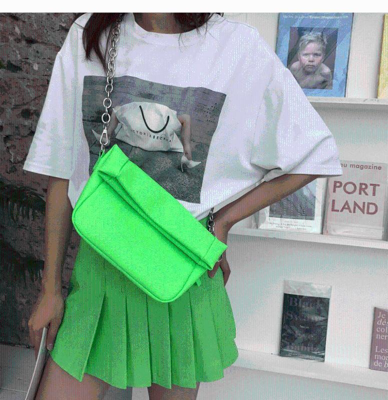Bolsas Mulheres Sacos Shoulder Bag Crossbody Bag para as mulheres 2020 elegante alça pequeno cadeia Praça Tote