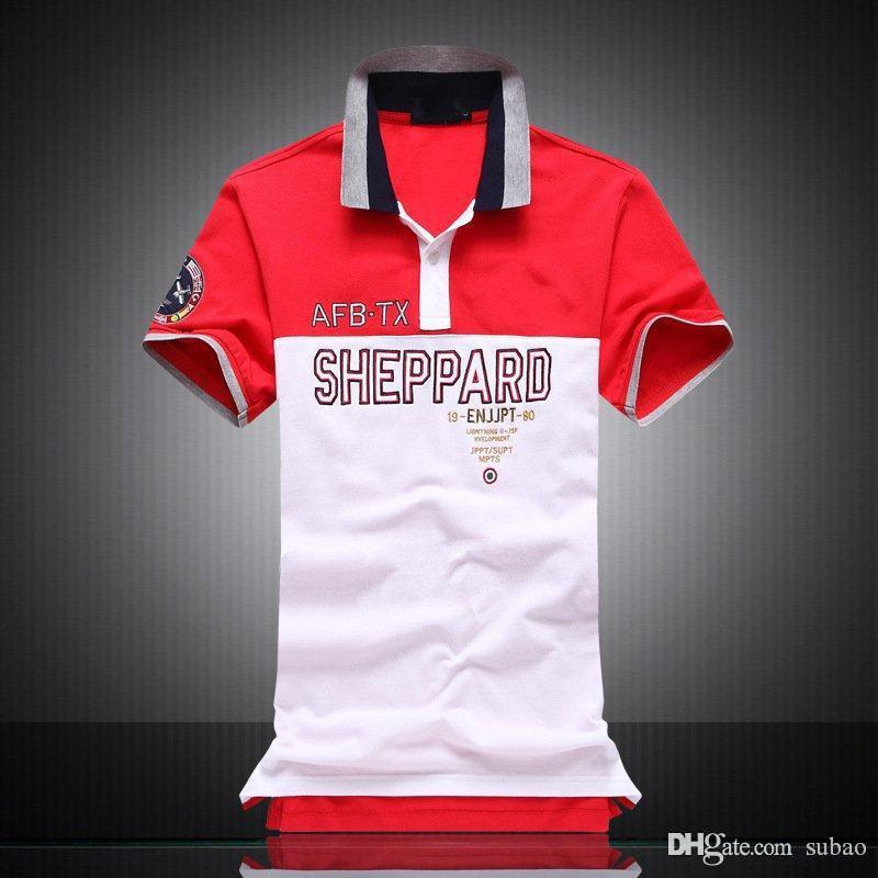 T-Shirt Sportgeschäft hohe qualityMensMens freies Verschiffen 2016 Qualitätsbaumwoll neuer O-Ansatz Kurzarm-T-Shirt-Marke für Männer