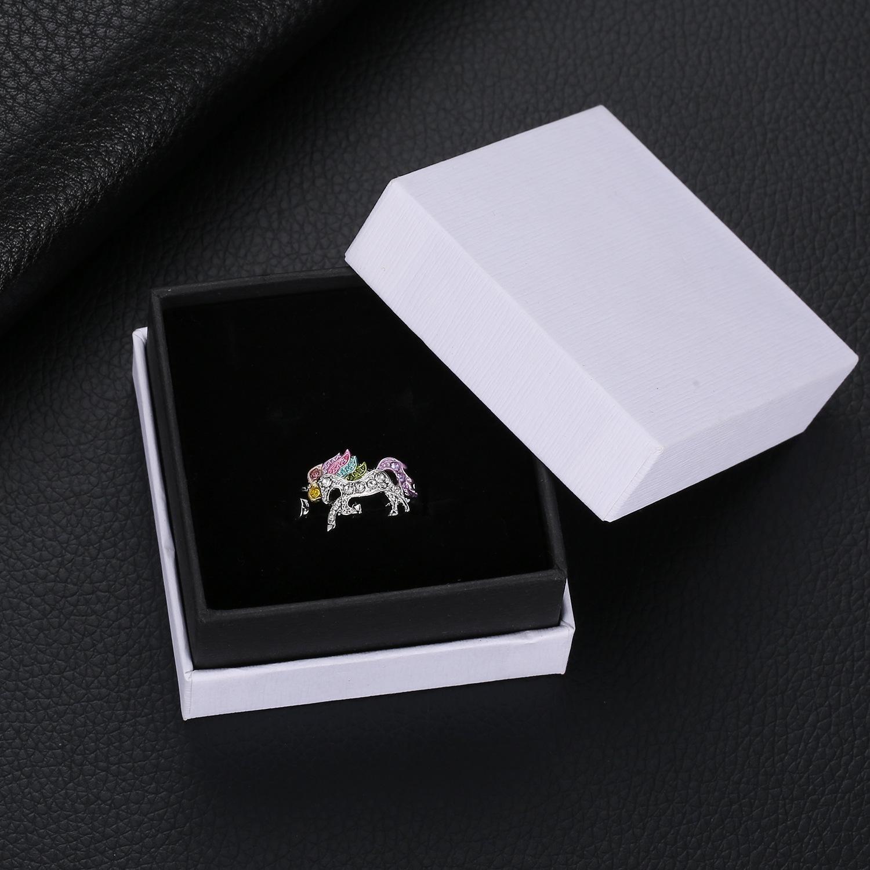 Listagem do produto novo anel de casamento atacado personalizado fábrica diretamente venda unicórnio mulheres anéis anéis de prata 925