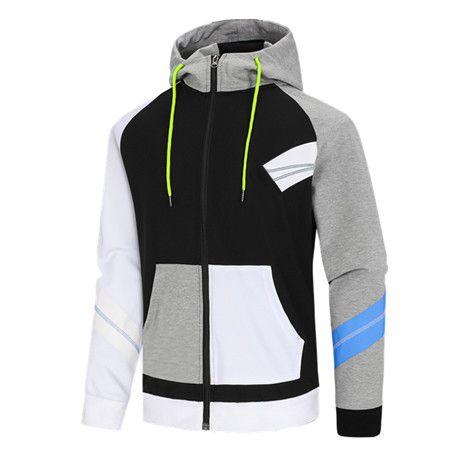 Mens Moda Feminina Outono Outono Inverno Outwear Jakcets Jaqueta Esporte de Alta Patchwork Tops Blusões Casuais Blusão LSY982640434