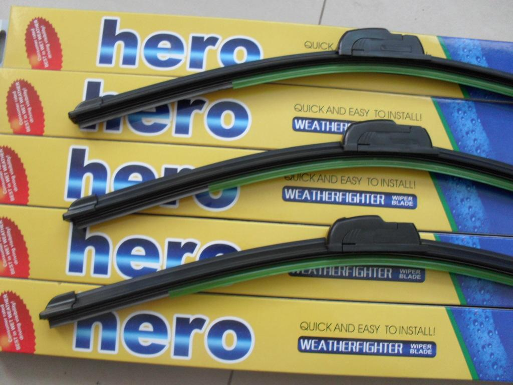 New Wholesale 500 pcs /lot fedex free Car Wiper Blade,Natural Rubber Car Wiper auto soft windshield wiper any 2 size choice 14-26in