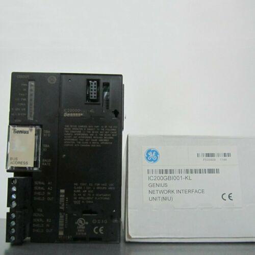1PC nuovo per GE Fanuc IC200GBI001-KL Genius interfaccia di rete Uint in scatola # QW