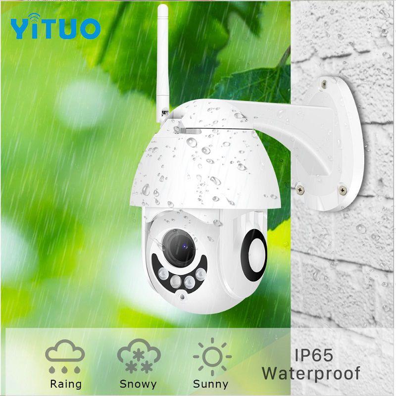 IP PTZ cámara HD 1080P 2MP al aire libre de Onvif Speed Dome CCTV IP66 vigilancia de seguridad a prueba de agua ipcam exterior Camara de Vigilancia
