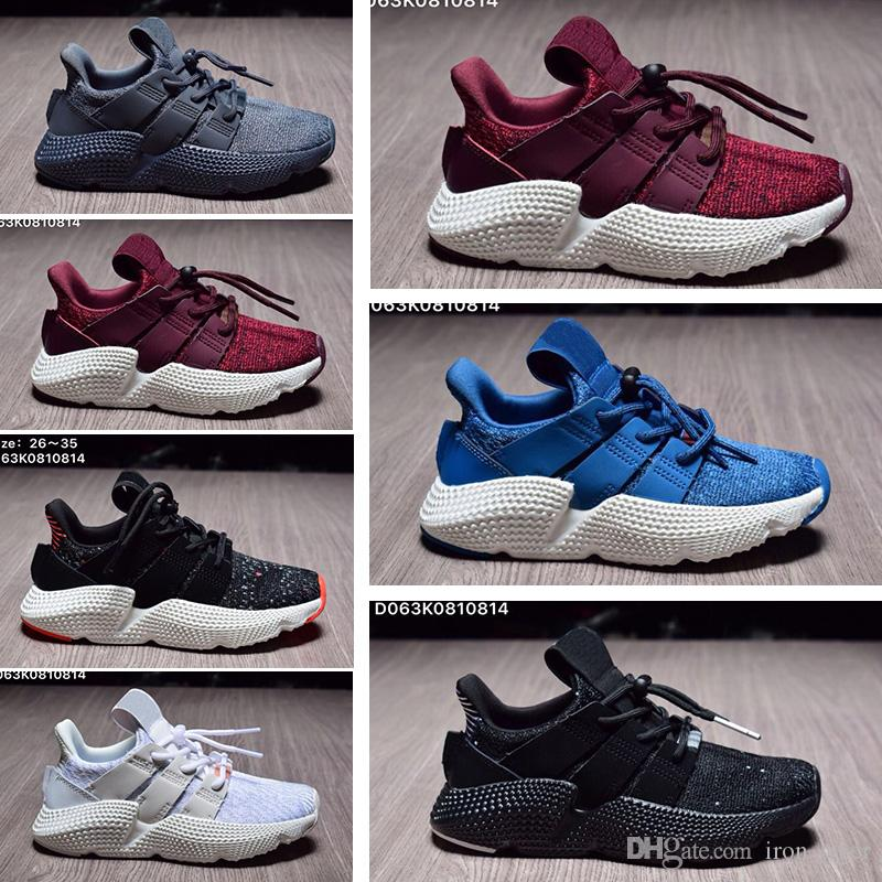 2018 New Child Infant Prophere EQT 4 4S Hedgehog Kids Running Shoes Support Toddler Athletic Boy Girl Niños Sneakers Triple Olive Sports