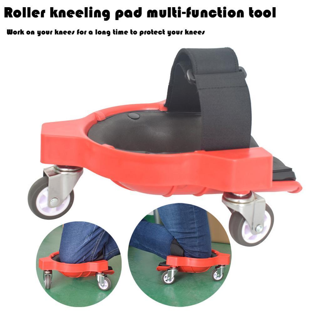 Costruito in poliuretano con rotelle, Roller, ginocchiere, Piattaforme pavimentazione, rullo universale Inginocchiare Pads