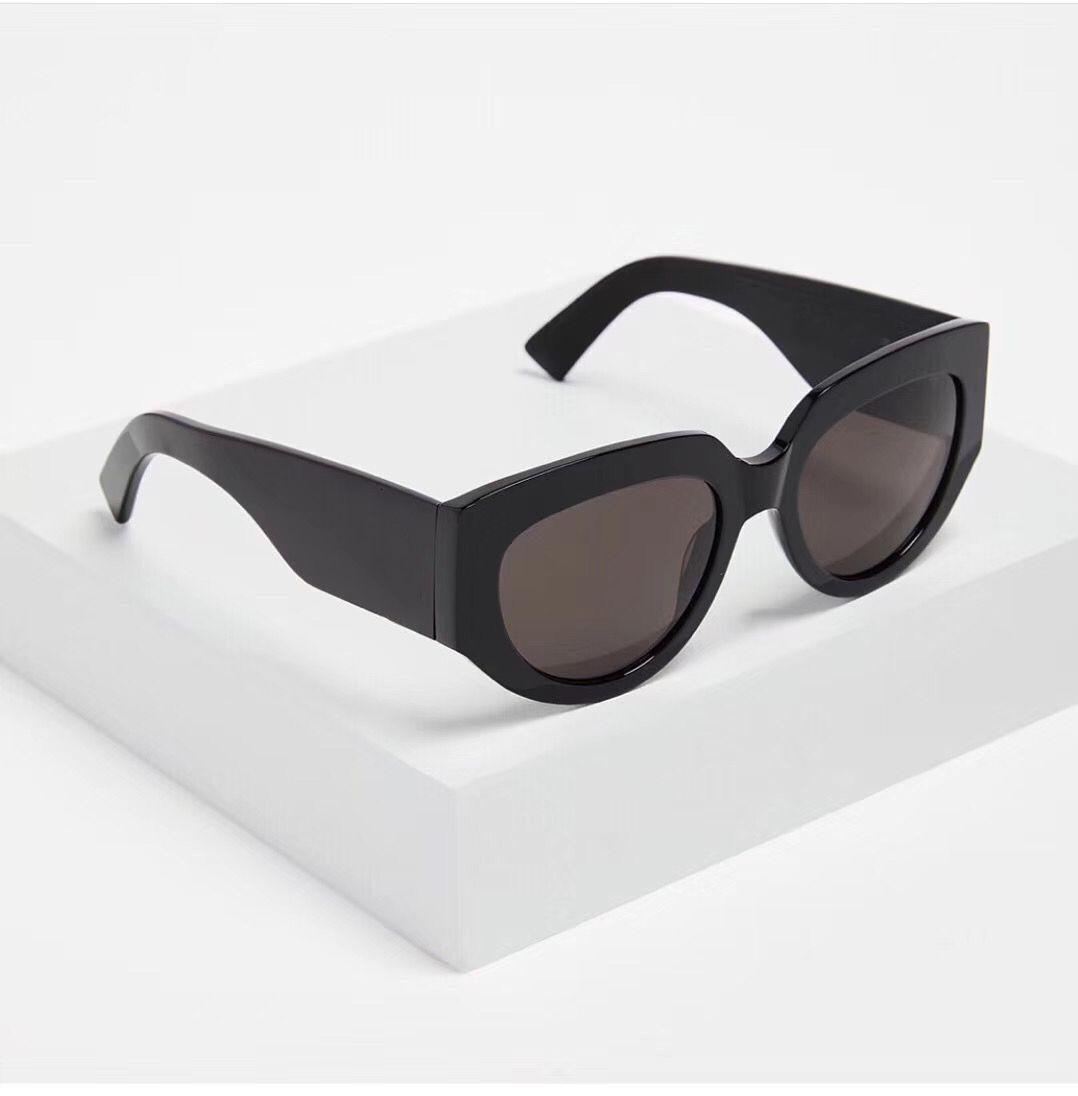 2020 New Sunglasses SL M26 Rope 001 Black/Grey Lens Designer 54mm Designer Sunglasses For Men Women Luxury Sunglass Fashion M26 Sunglases