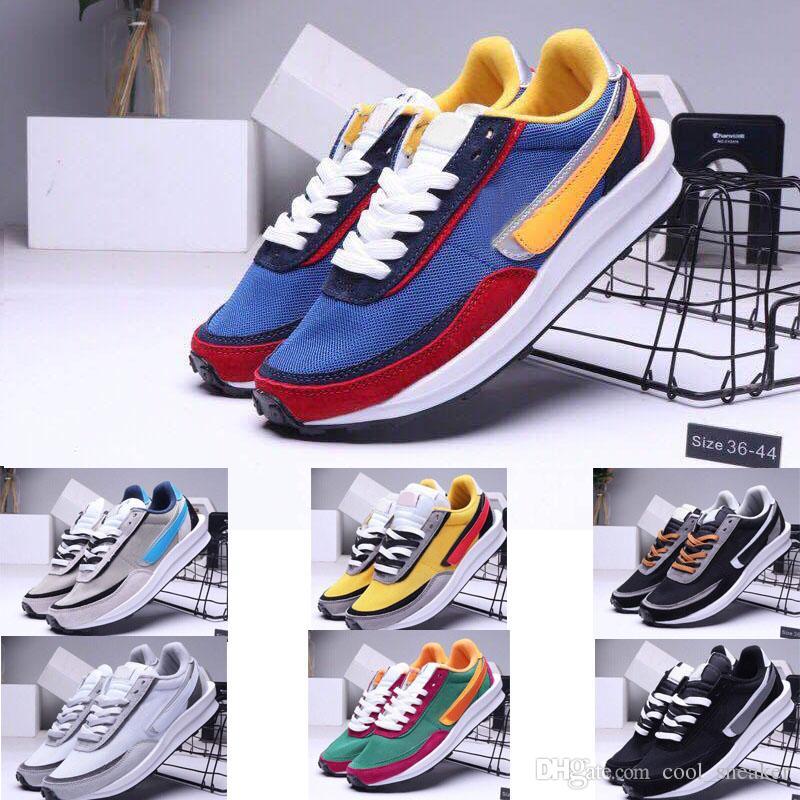 2019 fashion Più nuovo Sacai x LVD Waffle Daybreak trainer firmare scarpe da corsa da uomo marca respirare correre sneaker sportive