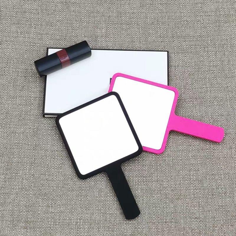 Fashion C women portable vanity mirror mini handle mirror cosmetic mirror for ladies collection luxury items vip gift